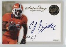 2010 Press Pass Saturday Signatures #SS-CS CJ Spiller Buffalo Bills C.J. Auto