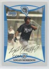 2008 Bowman Chrome Prospects Refractor #BCP69 Logan Morrison Miami Marlins Card