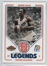 2009 Panini Threads ABA Legends 9 George McGinnis Indiana Pacers Basketball Card
