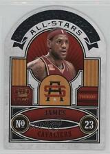 2009 Crown Royale All-Stars #2 Lebron James Cleveland Cavaliers Basketball Card