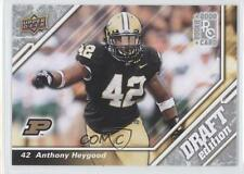 2009 Upper Deck Draft Edition 65 Anthony Heygood Purdue Boilermakers Rookie Card