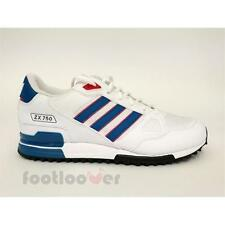 Shoes Adidas Originals ZX 750 s76194 Running Man Sneakers Mesh White Blue Red