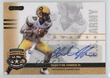 2010 Razor US Army All-American Bowl Autographs #BA-AH1 Austin Hinder U.S. Auto