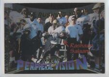 1995 Signature Rookies Peripheral Vision Samples VI Rashaan Salaam Football Card