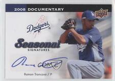 2008 Upper Deck Documentary Seasonal Signatures #RT Ramon Troncoso Auto Card