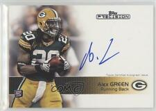 2011 Topps Precision #117 Alex Green Bay Packers Auto Autographed Football Card