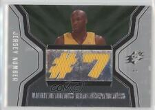 2007-08 SPx Winning Materials Jersey Number WMJ-LO Lamar Odom Los Angeles Lakers