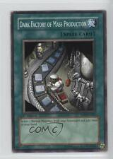 2004 Yu-Gi-Oh! Soul the Duelist #SOD-EN037 Dark Factory of Mass Production Card