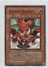 2004 Yu-Gi-Oh! Soul of the Duelist #SOD-EN023 Element Dragon YuGiOh Card
