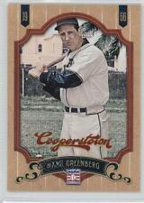 2012 Panini Cooperstown #167 Hank Greenberg Pittsburgh Pirates Baseball Card