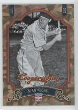 2012 Panini Cooperstown Crystal Collection #92 Stan Musial St. Louis Cardinals