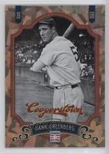 2012 Panini Cooperstown Crystal Collection 71 Hank Greenberg Detroit Tigers Card