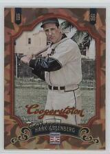 2012 Panini Cooperstown Crystal Collection 167 Hank Greenberg Pittsburgh Pirates