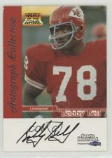 1999 Fleer Sports Illustrated Autograph Collection #BOBE Bobby Bell Auto Card