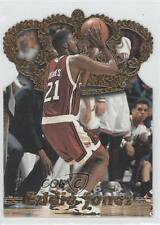 1995 Pacific Prism Draft Picks Gold Crown Die-Cut #DC-3 Eddie Jones Temple Owls
