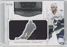 2011 Panini Dominion Mammoth Jerseys Die-Cut #47 Zack Kassian Vancouver Canucks