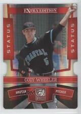 2010 Donruss Elite Extra Edition Status Red Die-Cut #58 Cody Wheeler Card