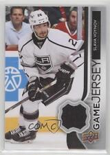 2014-15 Upper Deck Game Jerseys GJ-VO Slava Voynov Los Angeles Kings Hockey Card