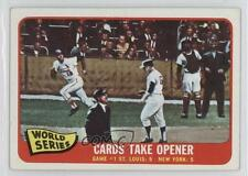 1965 Topps 132 1964 World Series Game #1 / Cards Take Opener St. Louis Cardinals