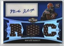 2010 Topps Triple Threads #117 Montario Hardesty Cleveland Browns Football Card