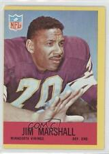 1967 Philadelphia #103 Jim Marshall Minnesota Vikings Football Card