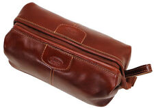 Floto Imports Luggage Venezia Dopp Kit Toiletry Bag, Italian Calfskin Leather