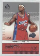 2003-04 SP Signature Edition #179 Corey Maggette Los Angeles Clippers Card
