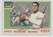 1955 Topps All American #12 Otto Graham Cleveland Browns Northwestern Wildcats