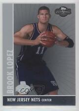 2008-09 Topps Co-Signers Silver #110 Brook Lopez New Jersey Nets Basketball Card