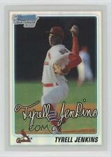 2010 Bowman Draft Picks & Prospects Chrome Refractor #BDPP26 Tyrell Jenkins Card