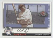 2002 Fleer Fall Classic Series of Champions 19SC Babe Ruth New York Yankees Card