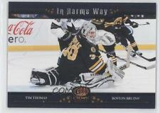 2011-12 Panini Crown Royale In Harm's Way 9 Tim Thomas Boston Bruins Hockey Card