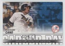 2012 Topps Career Day #CD-18 Robinson Cano New York Yankees Baseball Card