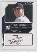 2011 In the Game Heroes and Prospects #A-JT2 Jameson Taillon Auto Baseball Card