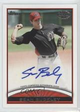 2012 Topps Pro Debut Autographs #PDA-SB Sean Buckley Billings Mustangs Auto Card