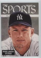 1999 Fleer Sports Illustrated Greats of the Game Covers #2C Mickey Mantle Card