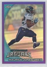 2010 Topps Chrome Retail Purple Refractor #C145 Maurice Jones-Drew Football Card