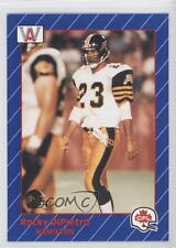 1991 All World CFL #50 Rocky DiPietro Hamilton Tiger-Cats (CFL) Football Card