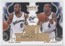 2008-09 Fleer Hot Prospects Tandems #HT-20 Gilbert Arenas Antawn Jamison Card