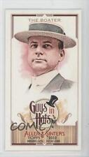 2012 Topps Allen & Ginter's Guys in Hats Minis #GH-2 The Boater Baseball Card