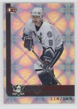 2001 Pacific Heads Up Red #1 Paul Kariya Anaheim Ducks (Mighty of Anaheim) Card