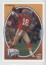 1991 Upper Deck Football Heroes #8 Joe Montana San Francisco 49ers Card