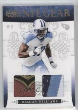 2010 Playoff National Treasures NFL Gear Combos Prime #35 Damian Williams Card