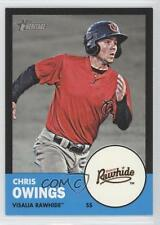 2012 Topps Heritage Minor League Edition Black Border #29 Chris Owings Card