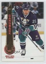 1994 Pinnacle #189 Patrik Carnback Anaheim Ducks (Mighty of Anaheim) Hockey Card