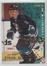 1994-95 Fleer #3 Paul Kariya Anaheim Ducks (Mighty of Anaheim) Hockey Card