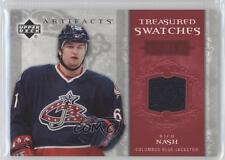 2006-07 Upper Deck Artifacts Treasured Swatches Red #TS-RN Rick Nash Hockey Card