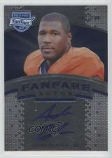2012 Press Pass Fanfare Blue #AB Andre Branch Clemson Tigers Auto Football Card