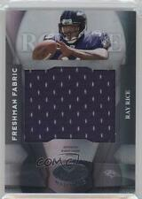 2008 Leaf Certified Materials #215 Freshman Fabric Ray Rice Baltimore Ravens RC