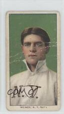 1909 1909-11 T206 Piedmont 150 Back JAWE Jake Weimer New York Giants Rookie Card
